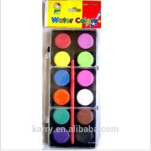 TARGET proveedor auditado nueva llegada 12 colores color de agua sólida