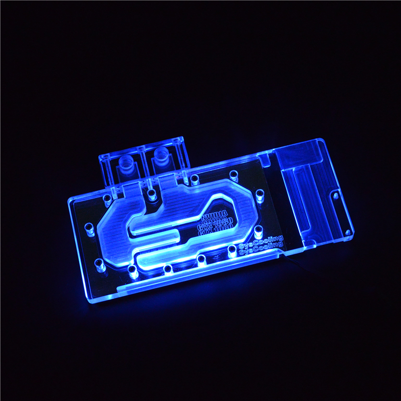 GTX1080 GPU Full Cover Water Block