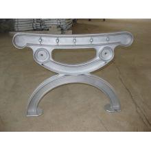 OEM алюминиевого сплава заливки формы на уличной скамейке