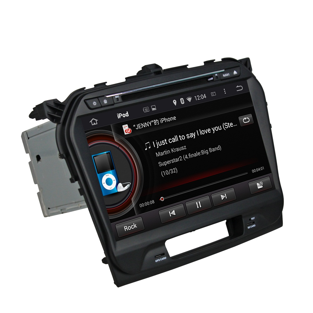 Vitara 2015 car DVD player for Deckless
