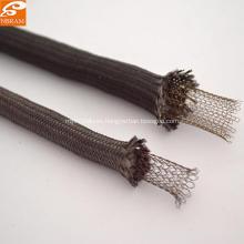 Cuerda de fibra de vidrio de tejer negro
