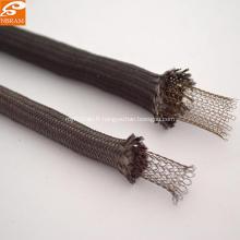 Corde noire en fibre de verre à tricoter