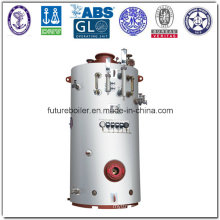 Vertical Pin Tube Marine Steam Boiler