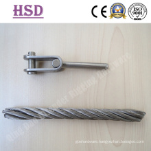 Stainless Steel Swage Jaw Fork