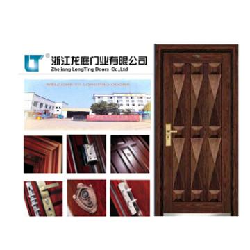 Soncap CIQ Aprovado China Porta De Armor De Madeira Armor De Aço De Entrada