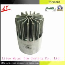 Aleación de aluminio de fundición de la pieza de base del disipador de calor