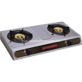 Stainless steel Table gas stove copper burner
