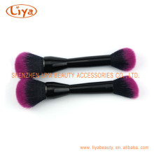 Bicolor Makeup Brushes Synthetic Hair for Female