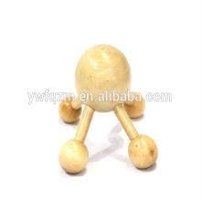 Holz-Vibrationskopf-Massagegerät mit 4 Beinen