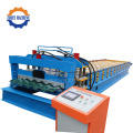 Colored Steel Step Tiles Roller Tidigare Machine