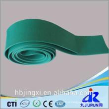 Rolo macio verde da folha do PVC