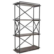 Industrie-Metall-Holz 3-stöckig Regal
