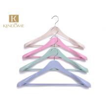Wholesale Custom Logo Biodegradable Plastic Clothes Coat Hanger