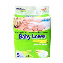 Babylove Baby Diaper Hot Selling in MID East Market