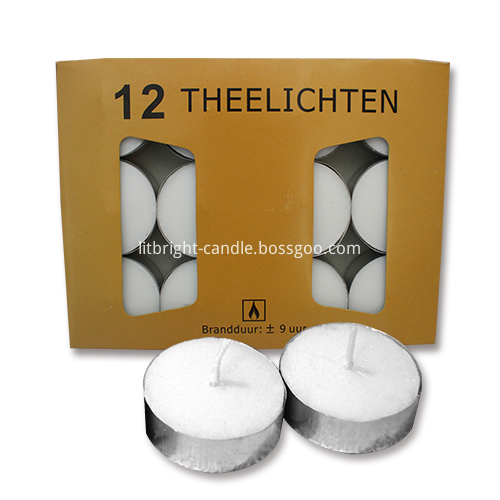 Wholesalers Wedding Decoration Tealight Candles