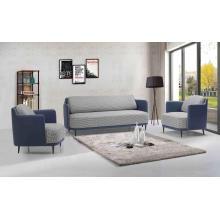 Sofá de tecido de 3 lugares com móveis para sala de estar