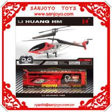 HTX086-2 X'MAS regalo hotsale !! Spider-man rc helicóptero para la venta w / gyro 3.5ch
