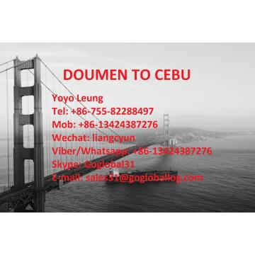 Zhuhai Doumen Sea Freight ke Filipina Cebu