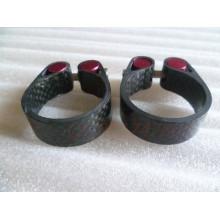 ANTS pièces de vélo assise collier de serrage 31.8 / 34.9 MM sabot de carbone collier de carbone pince à bicyclette carbone