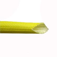 Luva de vidro de fibra envernizada do silicone 1.5KV