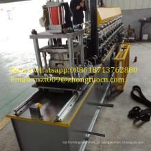 Máquina de porta do obturador do rolo rolamento Perfiladeira de porta Rolling Slat dá forma à máquina