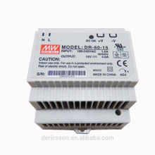 mean well DR-60-15 15V DIN Rail Power Supply 60W