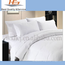 100% Cotton White Plain Bed Cover Set For Hospital