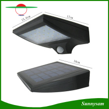 Motion Sensor Solar Lamp 30 LED Super Bright Security Lighting Outdoor Garden Wall Light with Black and Grey Color