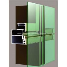 Aluminium-Fenster und Türprofil