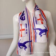 Printing Polyester Schal für Festivals / Anzeigen / Promotions