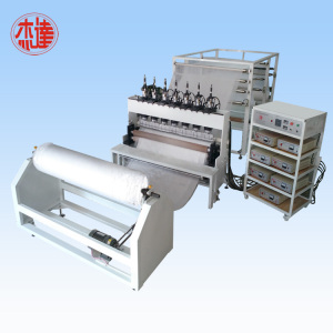 Automatic ultrasonic diapers compound machine
