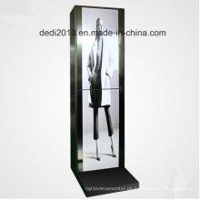 55 Zoll-Standplatz-Digital-Signage-Porträt-bewegliches Anzeigen-LCD-Digital-Anzeige