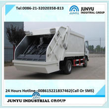End-Loading Compacting Garbage Truck