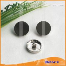 Botón de aleación de zinc y botón de metal y botón de costura de metal BM1641