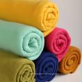 Cobertor de lã polar sólido em cores diferentes