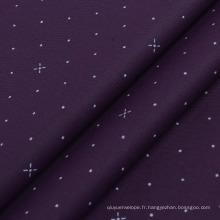 Impression de tissu de stock Impression de textile de tissu de microfibre