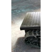 Material rodante do chassi da esteira de borracha do caminhão do Atv UTV Chassi de conversão completa
