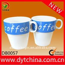 Caneca de café cerâmica por atacado direto da propaganda da fábrica