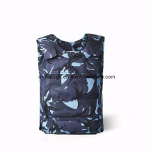 Nijiii Ocean camuflagem Kevlar PE armadura de tecido colete à prova de balas
