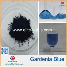 Гардения экстракт гардении синий цвет с помощью красителя