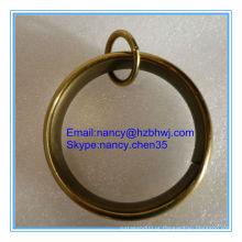 Bronze Loop Anéis para Cortina Varas