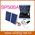 suitcase design AC and DC 12V minil portable solar generator 220v 500w