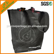 PP non woven 4 bottle tote wine bag