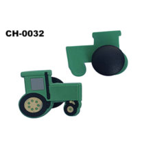 Factory Customize Car Charm 3D Rubber Patch for Child Clogs