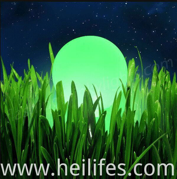 led lawn ball light