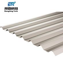Panneau de toiture en plastique polycarbonate dans le panneau de toiture en zinc-aluminium de la Jamaïque