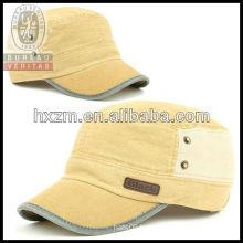 snap back flat top cap