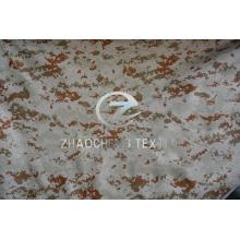 Tissu à manches anti-balles à camouflage 600d avec revêtement en PU