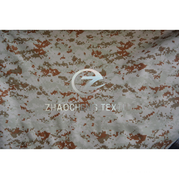 600d Digital Camouflage Bullet Proof Vest Fabric with PU Coated