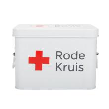 Caixa branca de primeiros socorros